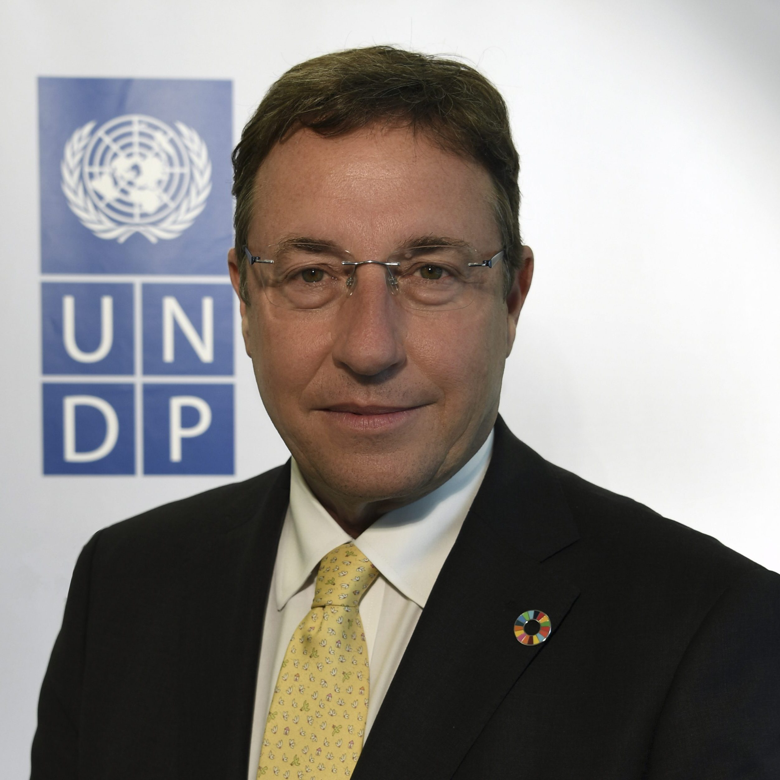 New York, 28 June 2017 - UNDP official portrait of Mr. Achim Steiner, UNDP Administrator. © UNDP / Andrew Hein
