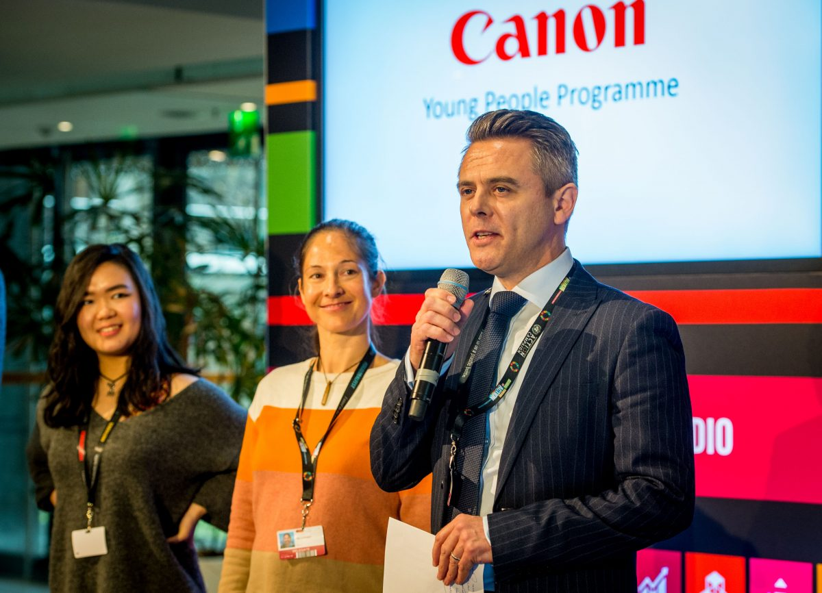 Canon Launches 2018 Young People Programme at UN's Global Festival of Action for Sustainable Development