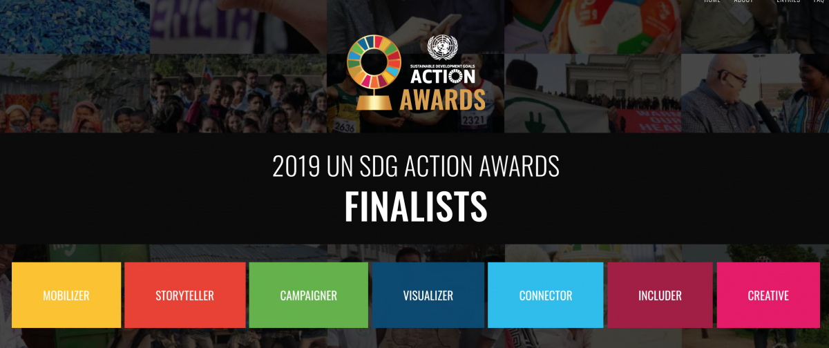 Unveiling the 21 Finalists of the 2019 UN SDG Action Awards!